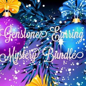 Super Deal!! Gemstone Earring Mystery Reseller Box